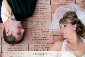 A brick symbolizing their love will be forever in Wayfarers Chapel